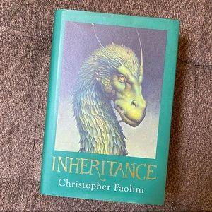 Inheritance Hardcover Novel. Book 4